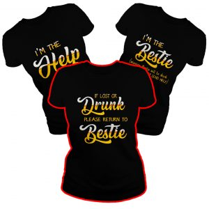 Beer If lost or drunk please return to bestie shirt