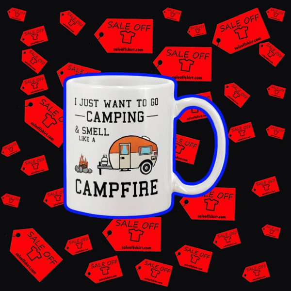 I just want to go camping and smell like a campfire mug