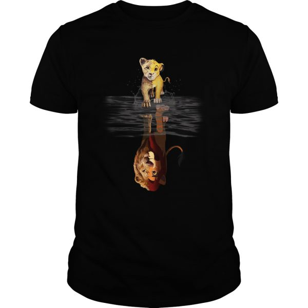 Reflection Baby Simba Lion King shirt