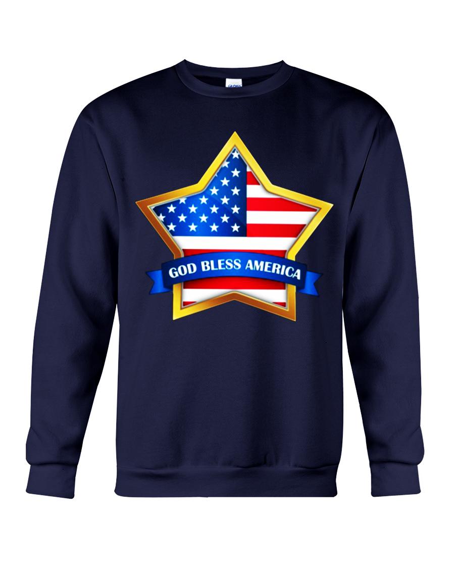 Star God bless America sweatshirt