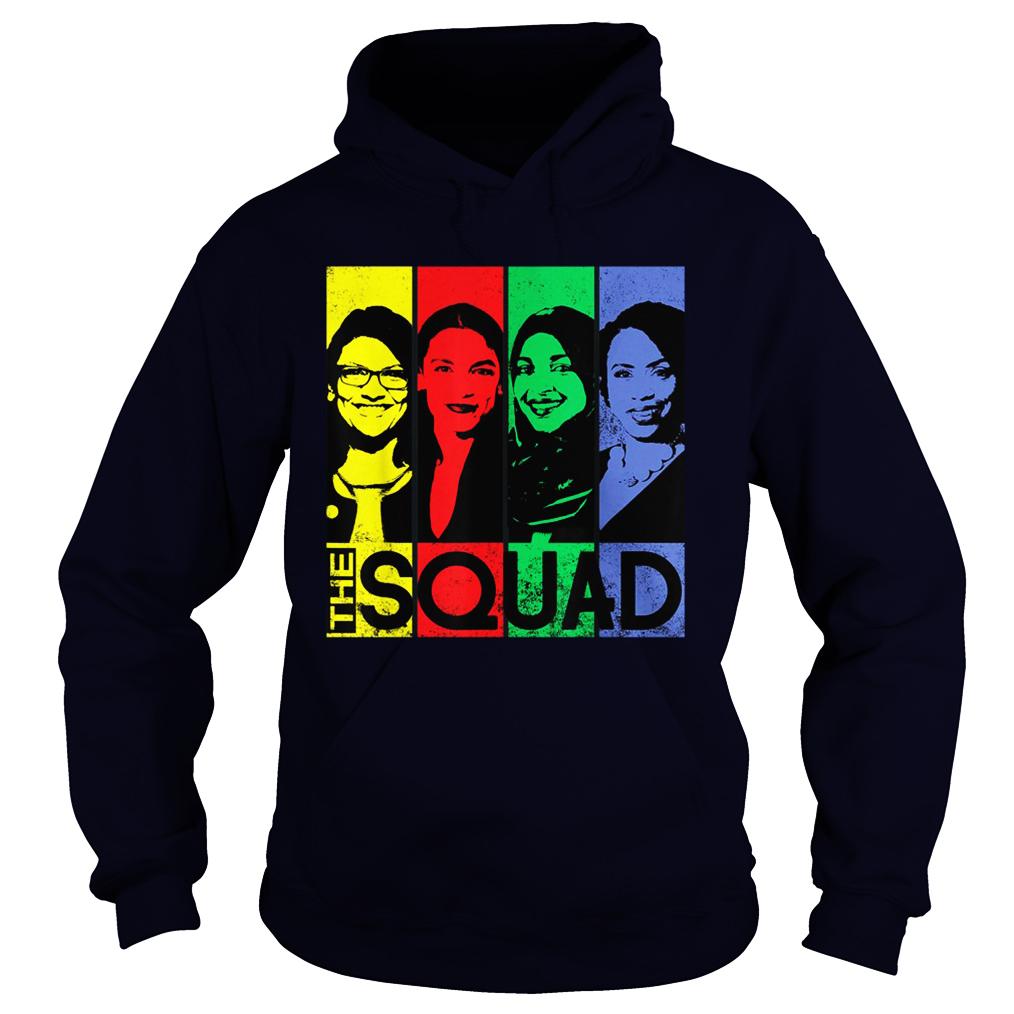 The squad AOC Omar Tlaib Pressley hoodie