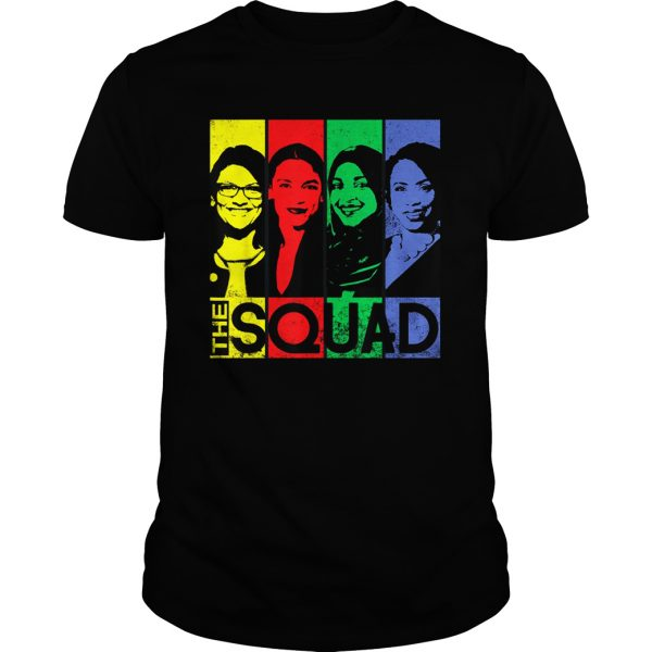 The squad AOC Omar Tlaib Pressley shirt