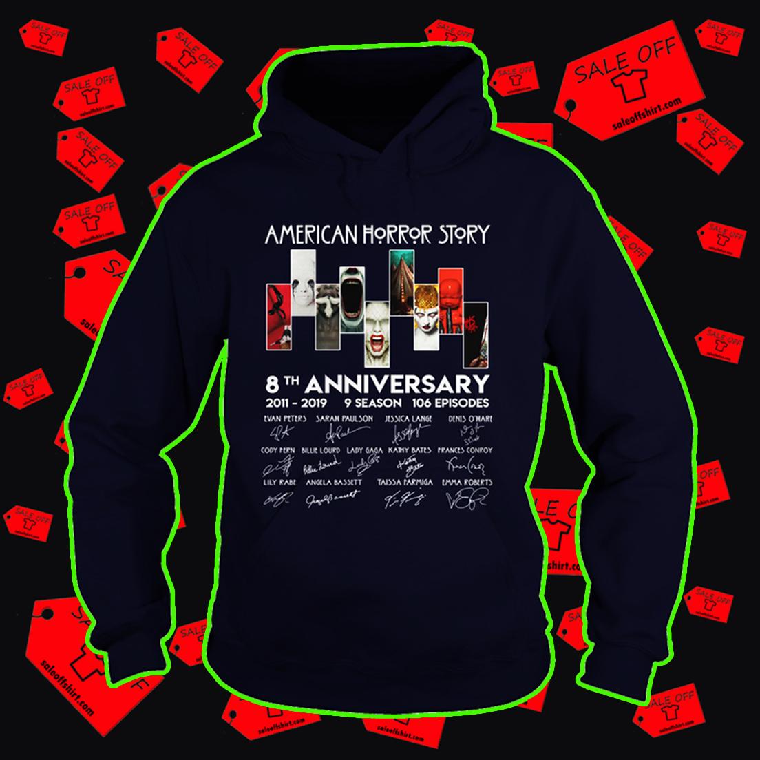 American horror story 8th anniversary hoodie