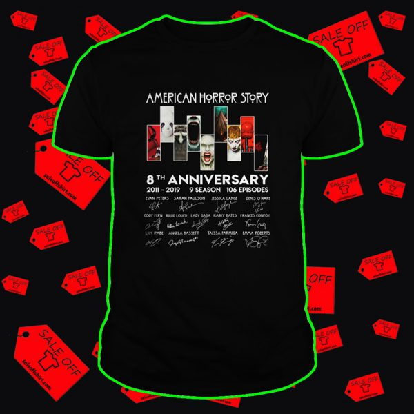 American horror story 8th anniversary shirt