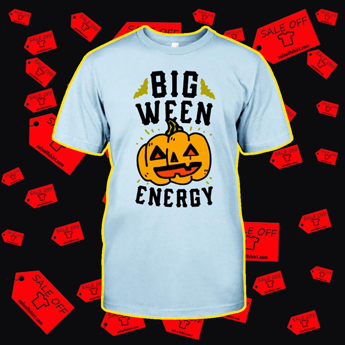 Big ween energy pumpkin t-shirt