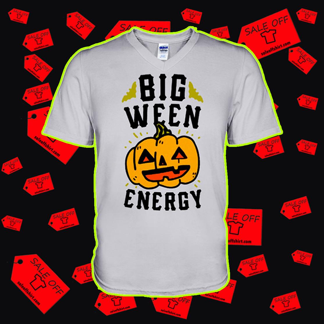 Big ween energy pumpkin v-neck