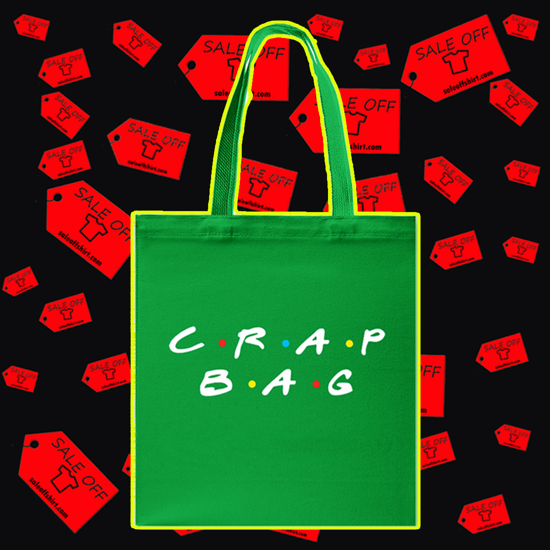 Crap bag Tote bag - green