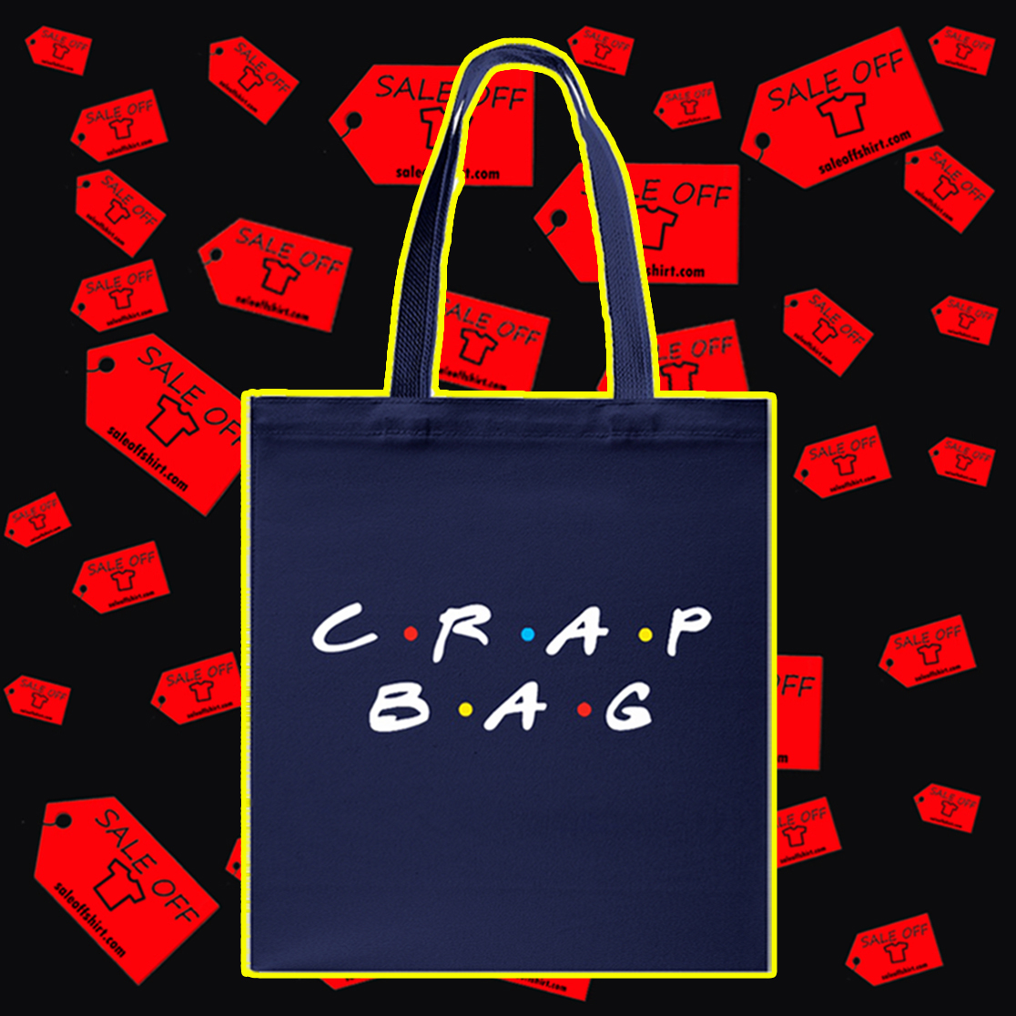 Crap bag Tote bag - navy