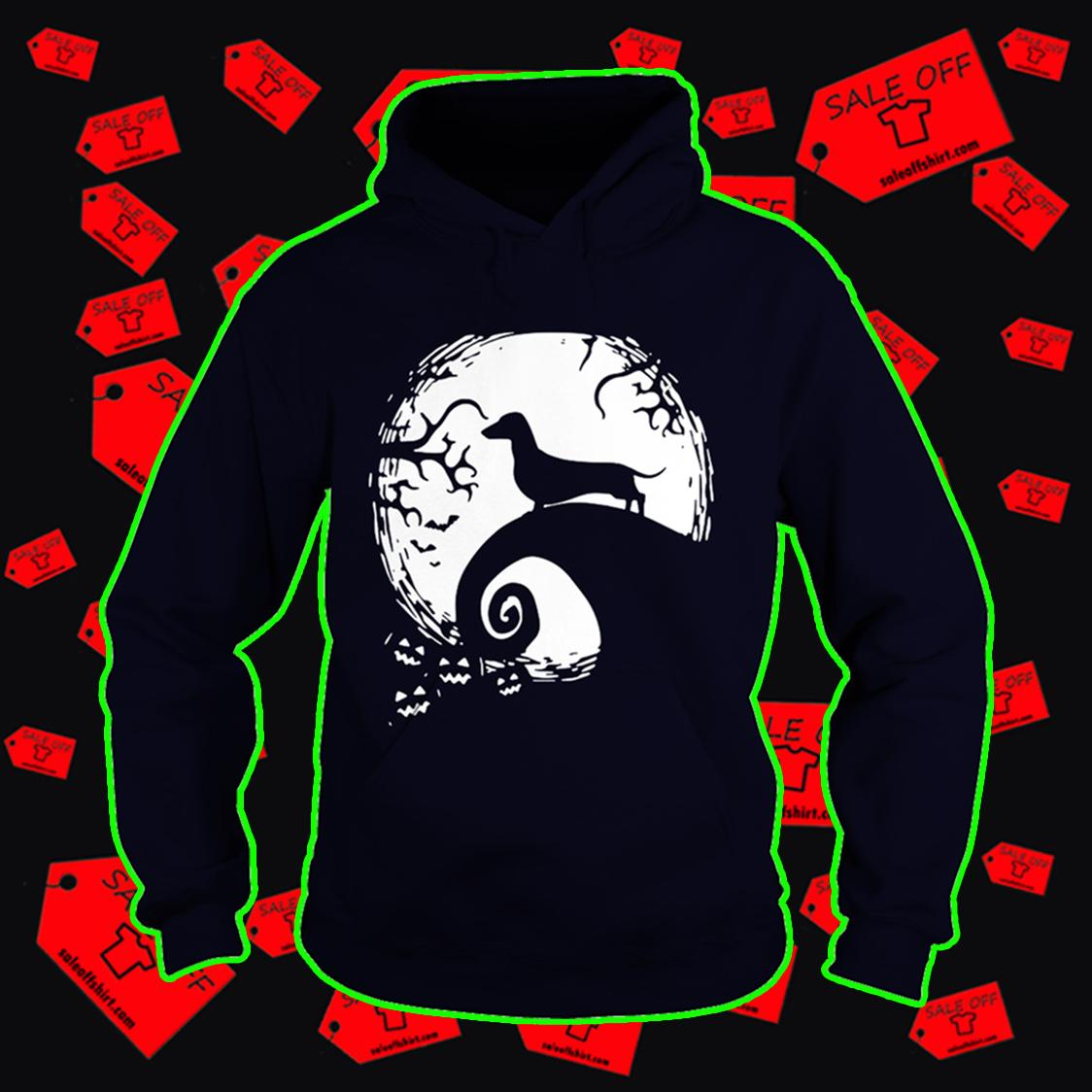 Dachshund The Nightmare Before Christmas hoodie