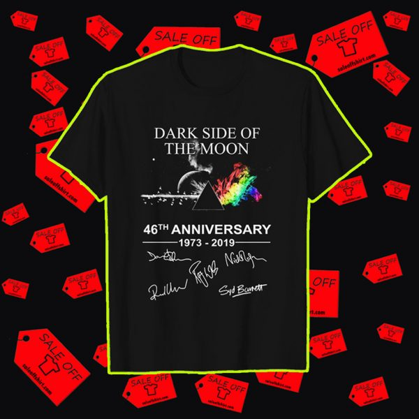 Dark side of the moon 46th anniversary shirt