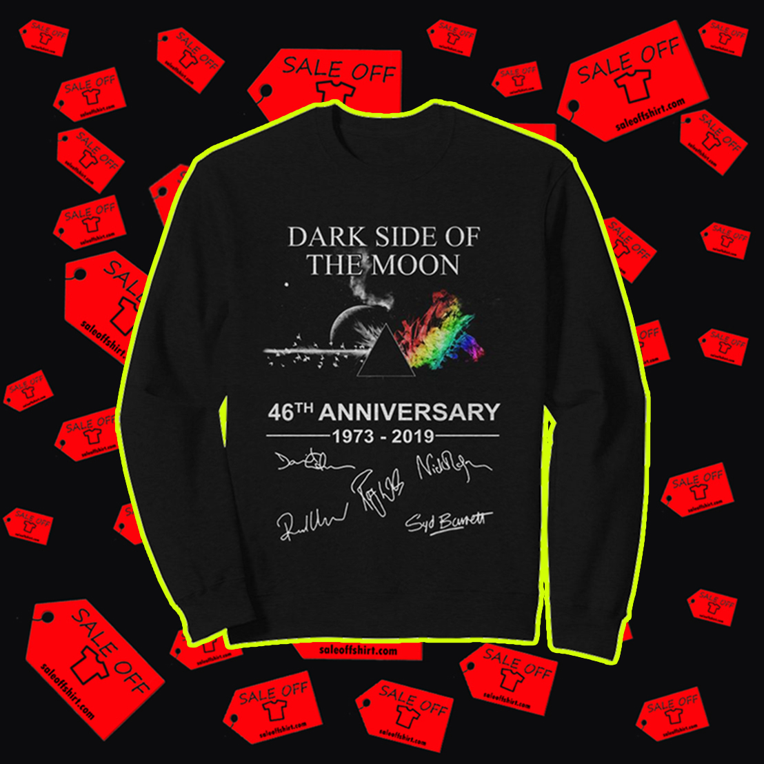 Dark side of the moon 46th anniversary sweatshirt