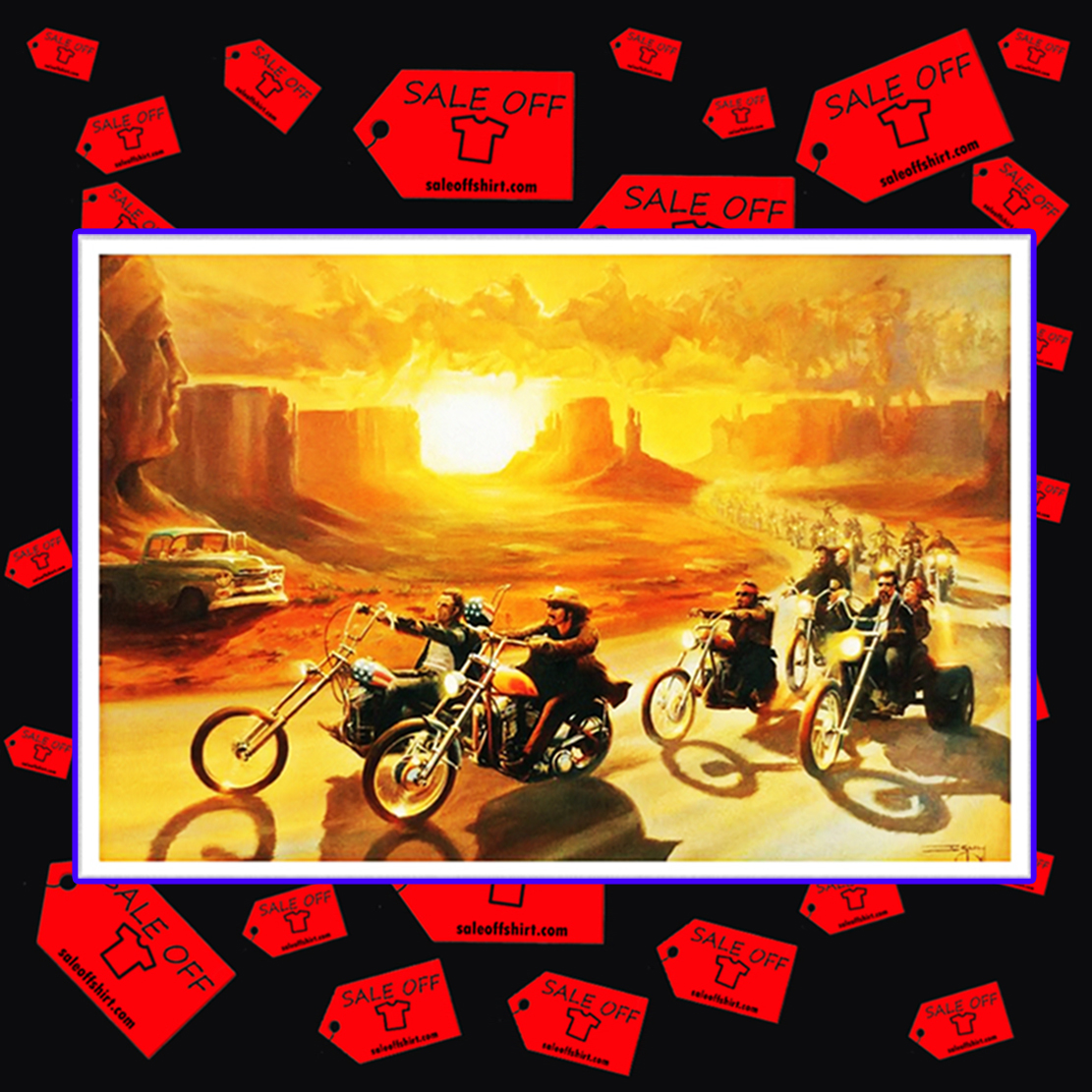 Easy Rider poster 17x11