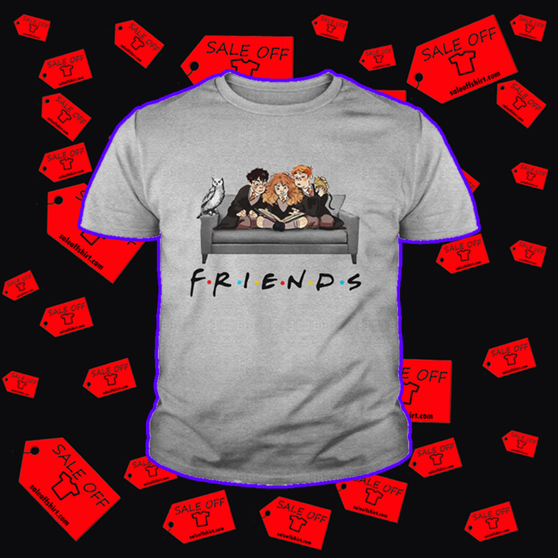 Harry Hermione and Ron friends youth tee