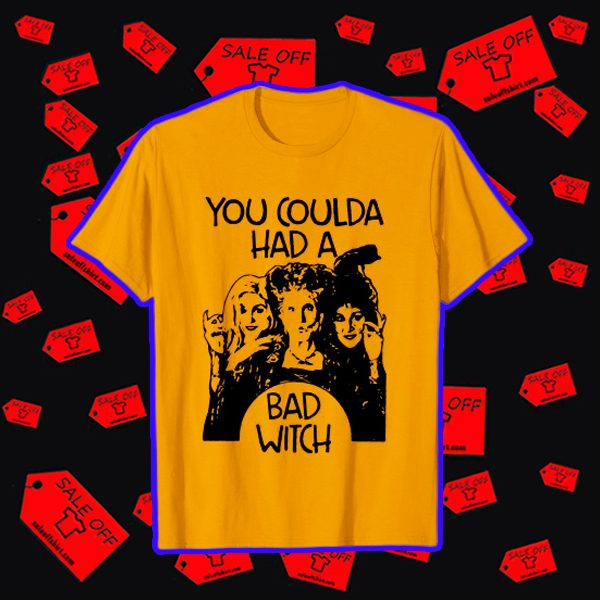 Hocus Pocus you coulda had a bad witch shirt