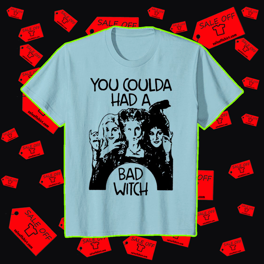 Hocus Pocus you coulda had a bad witch youth tee