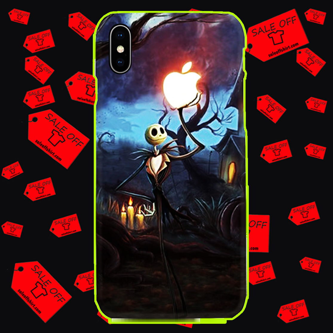 Jack Skellington Apple phone case - iphone X case