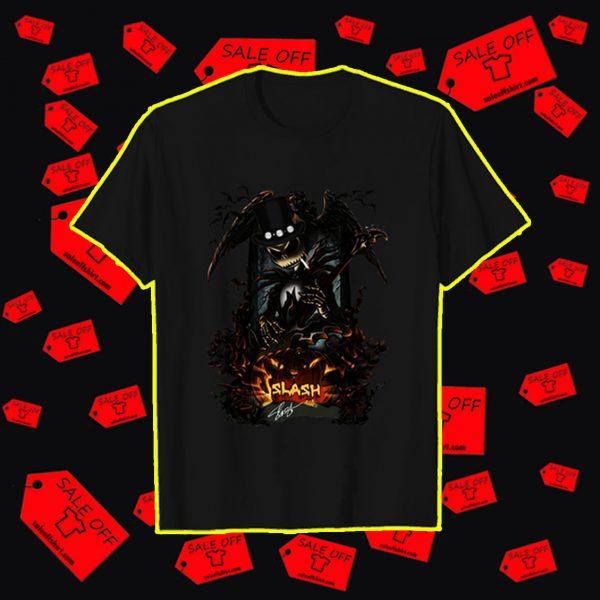 Jack Skellington Slash signature shirt
