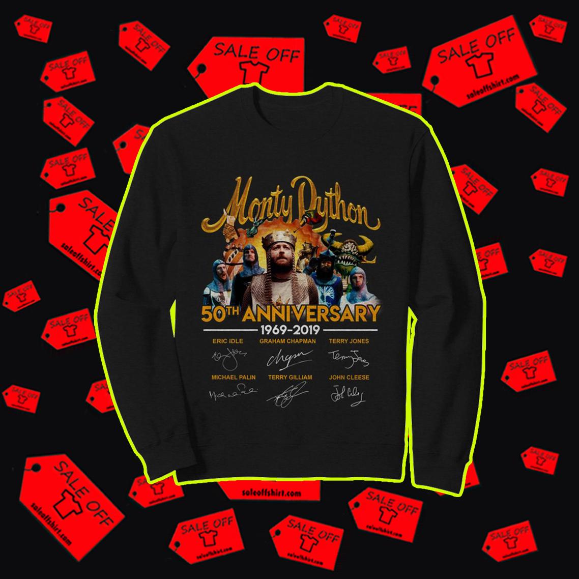 Monty Python 50th anniversary sweatshirt