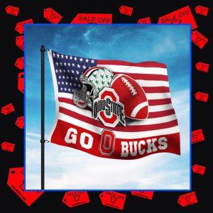 Ohio State Buckeyes Go Bucks flag