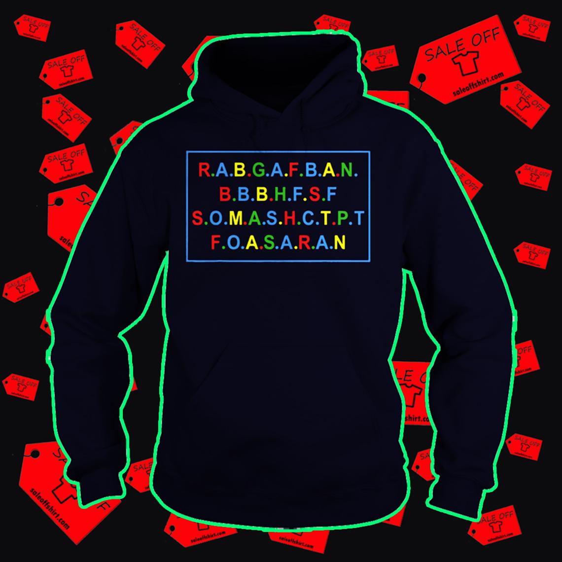 RABGAFBAN City Girls Act Up hoodie