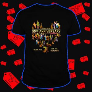 Scooby Doo 50th anniversary thank you for the memories shirt