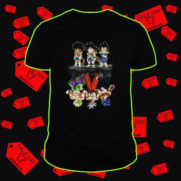 Super Saiyan Dragon Ball reflection shirt