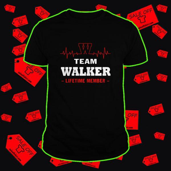 Team Walker lifetime member shirt
