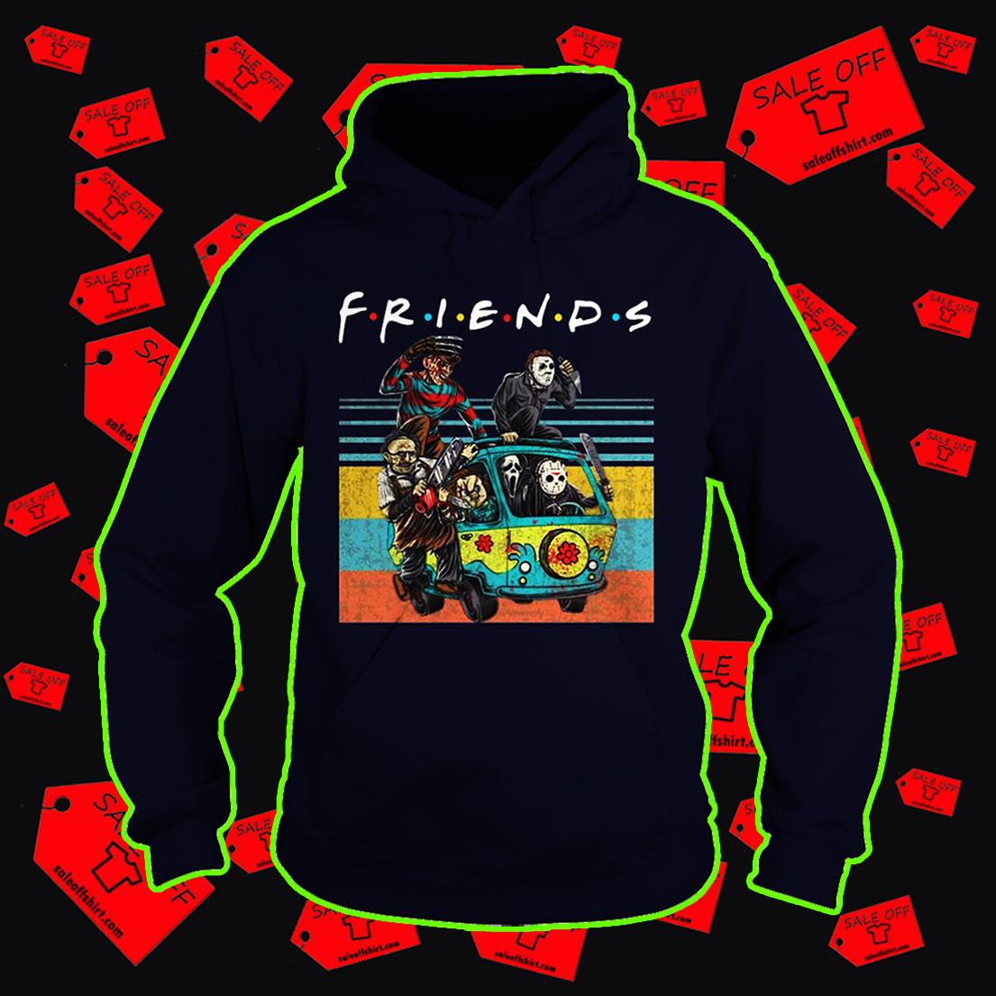 The Massacre Machine Horror Friends hoodie