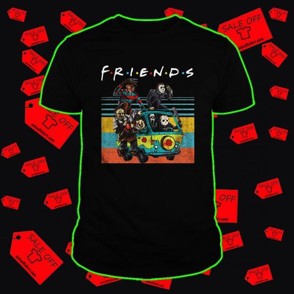 The Massacre Machine Horror Friends shirt