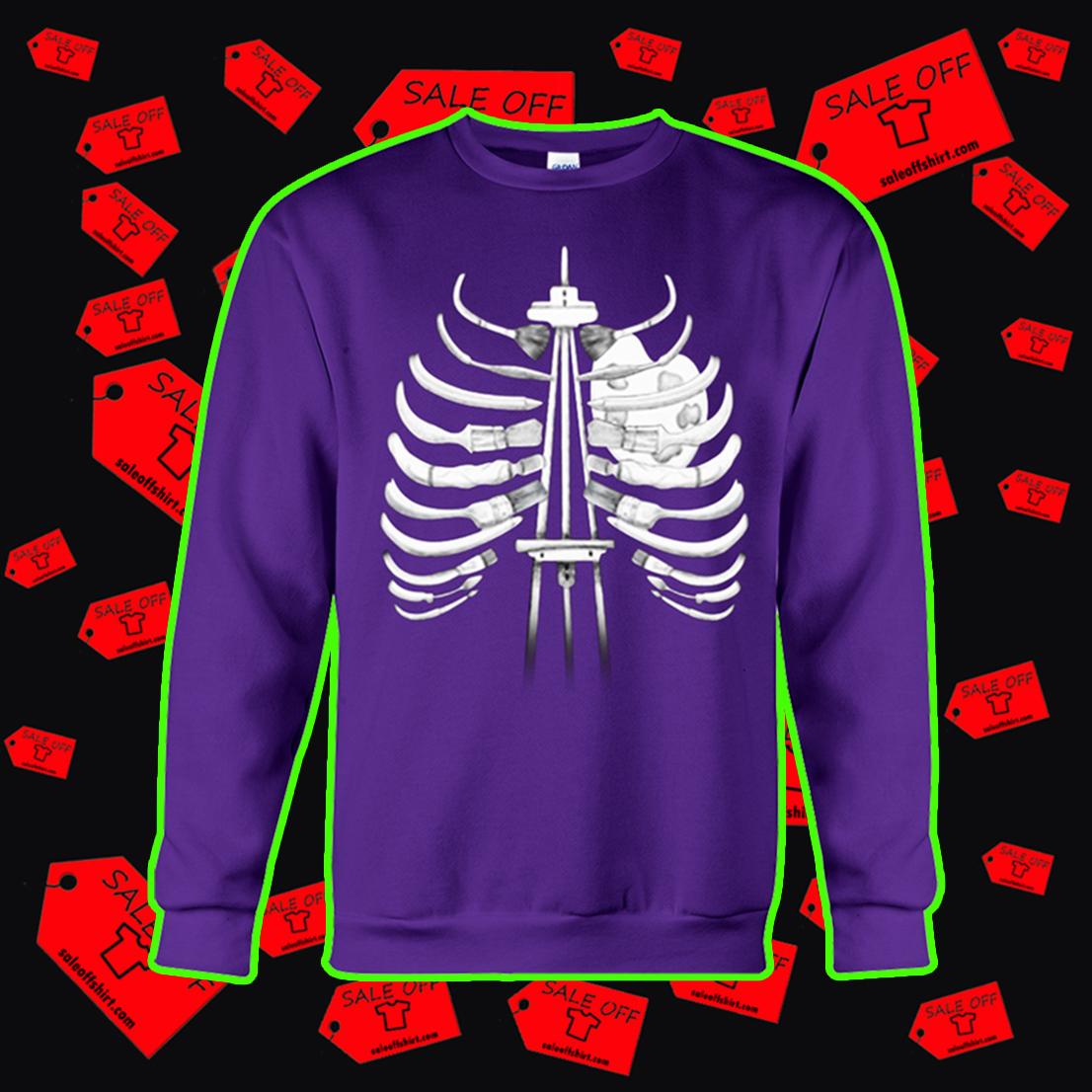 Art I Can Feel It In My Bones sweatshirt