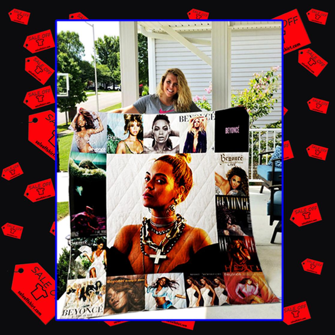 Beyoncé Quilt Blanket - queen
