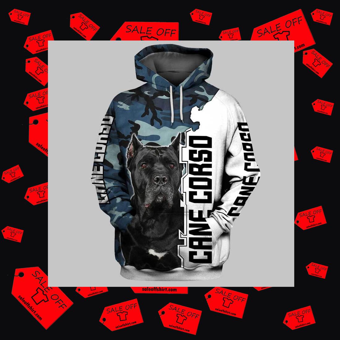 Cane Corso 3d full printing hoodie