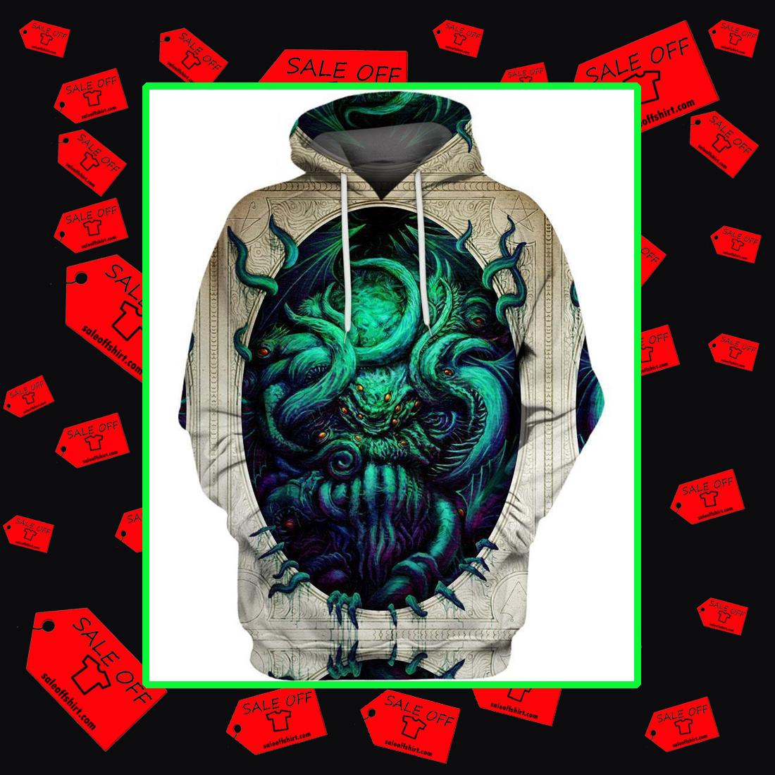Cthulhu 3d hoodie