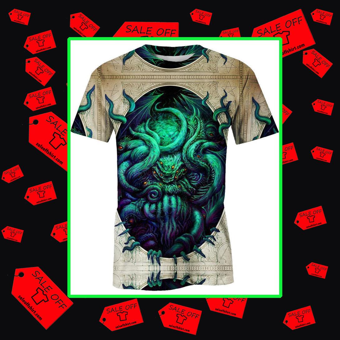 Cthulhu 3d t-shirt