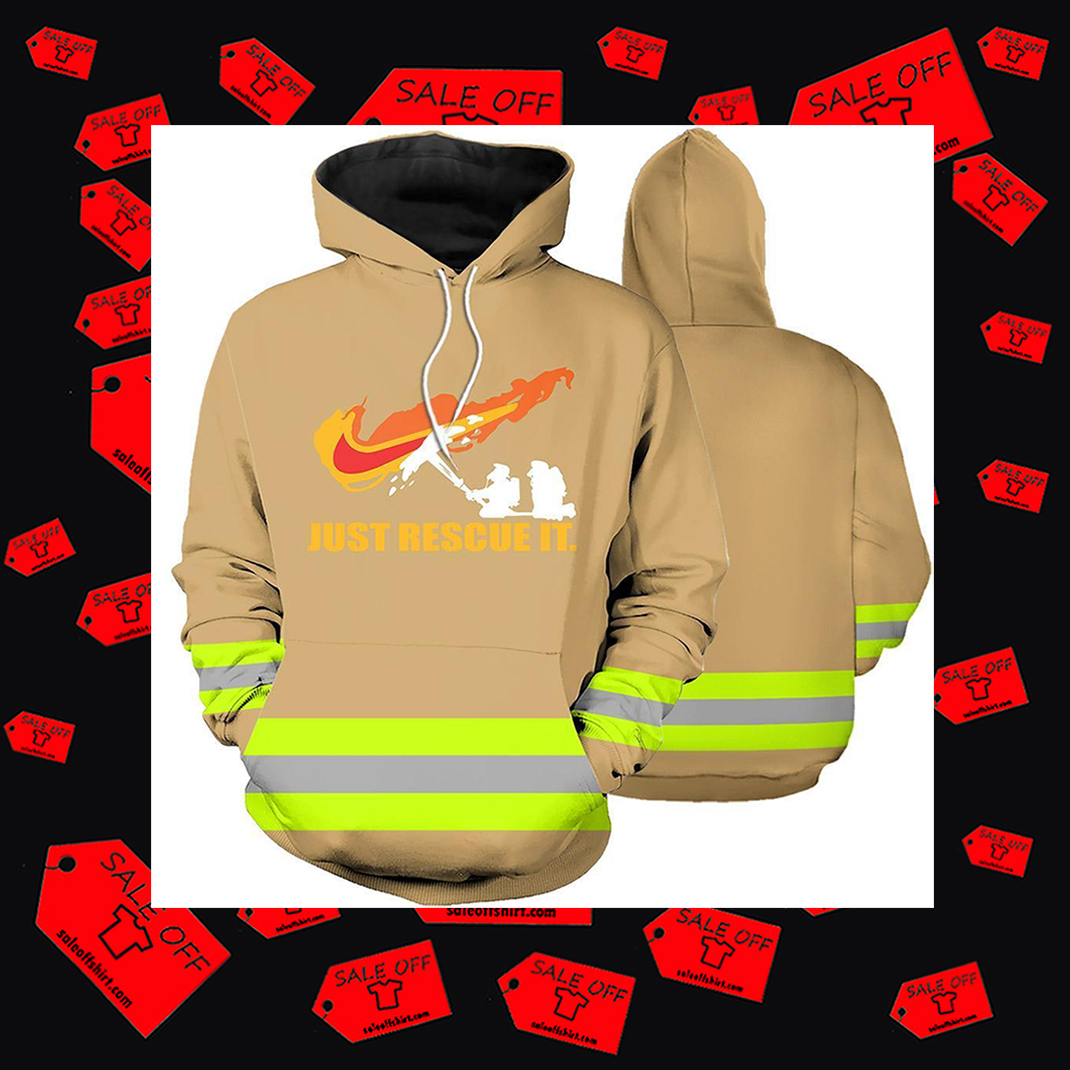 Firefighter skull Fire Courage Honor Rescue Hoodie 3D - nike