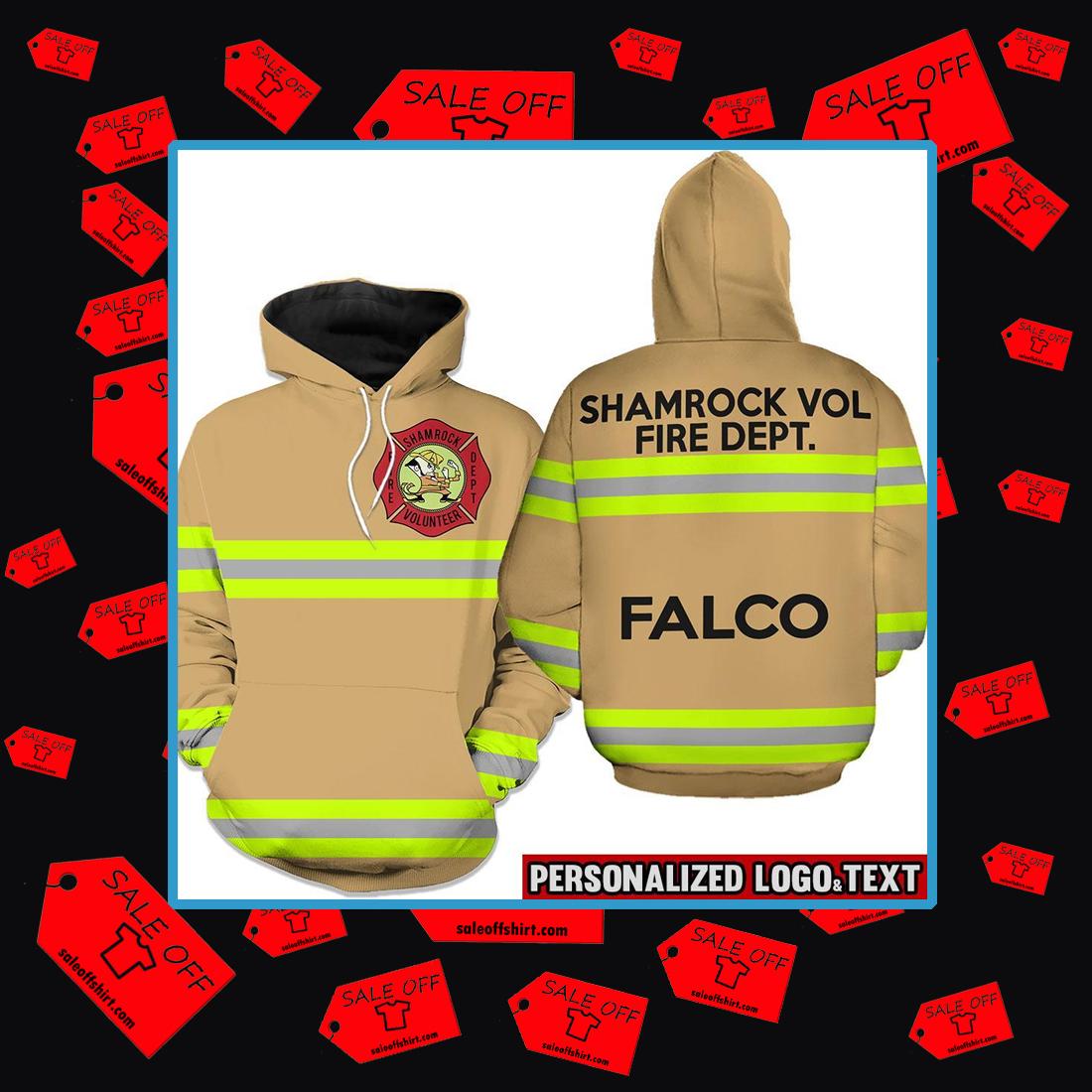 Firefighter skull fire dept hoodie 3d