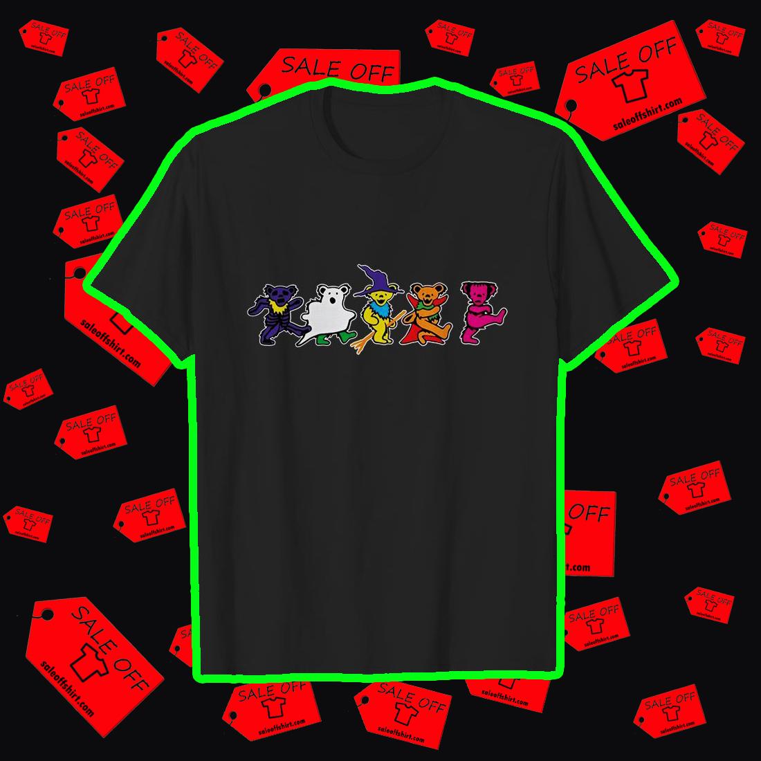 Grateful Dead Dancing Bears halloween shirt