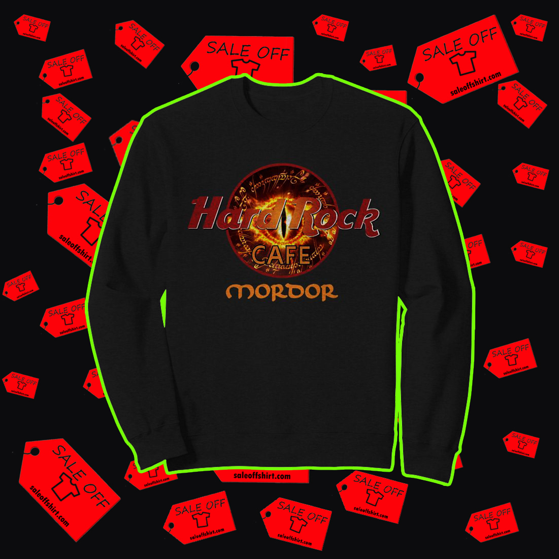 Hard Rock Cafe Mordor sweatshirt