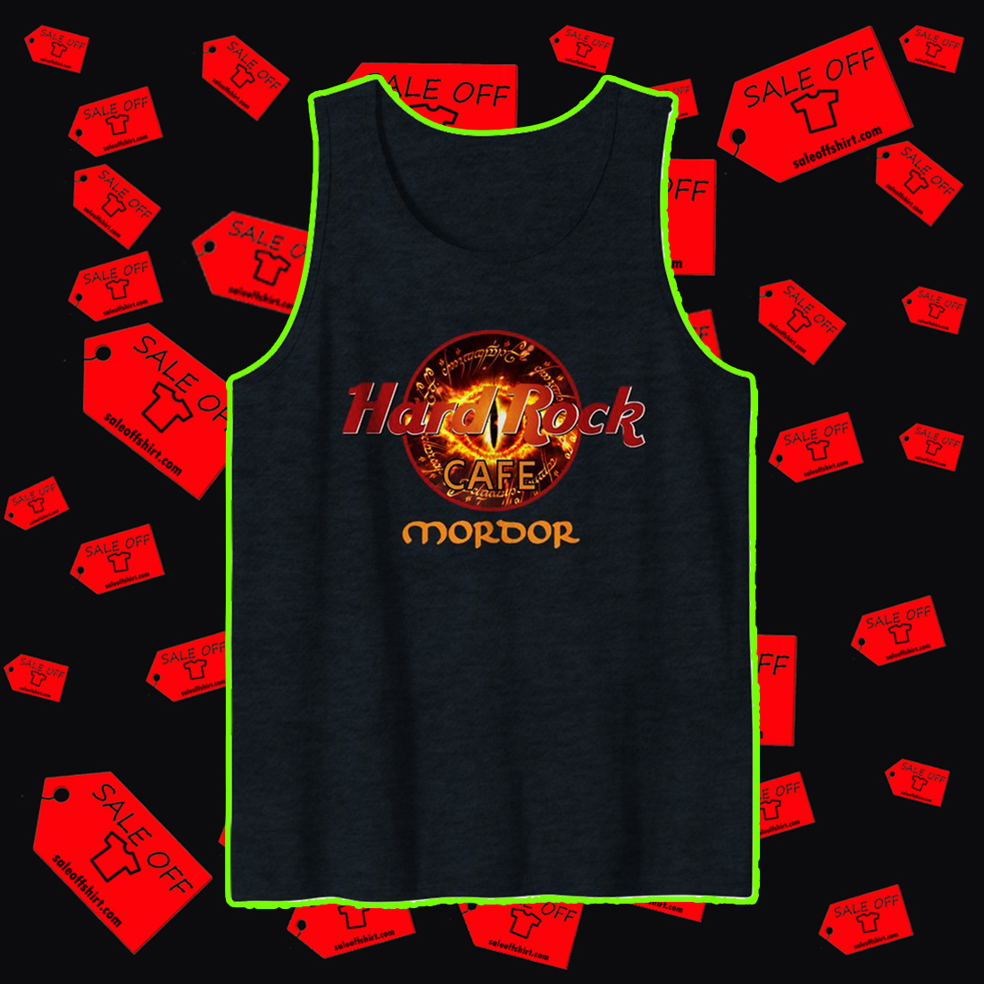 Hard Rock Cafe Mordor tank top
