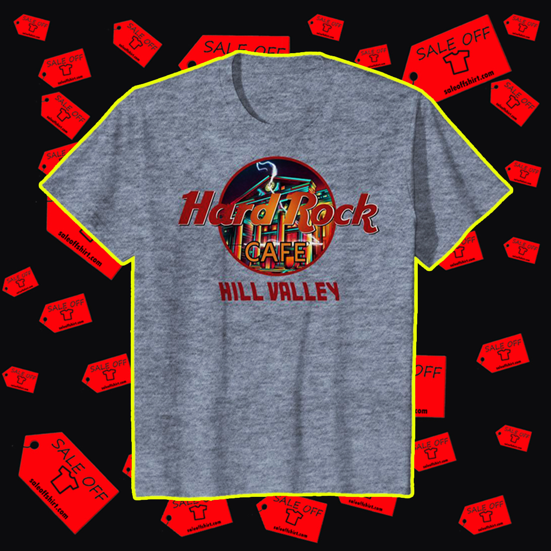 Hard Rock cafe Hill Valley youth tee