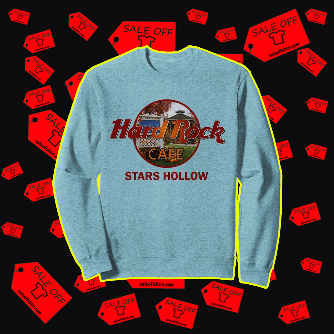 Hard rock cafe stars hollow sweatshirt