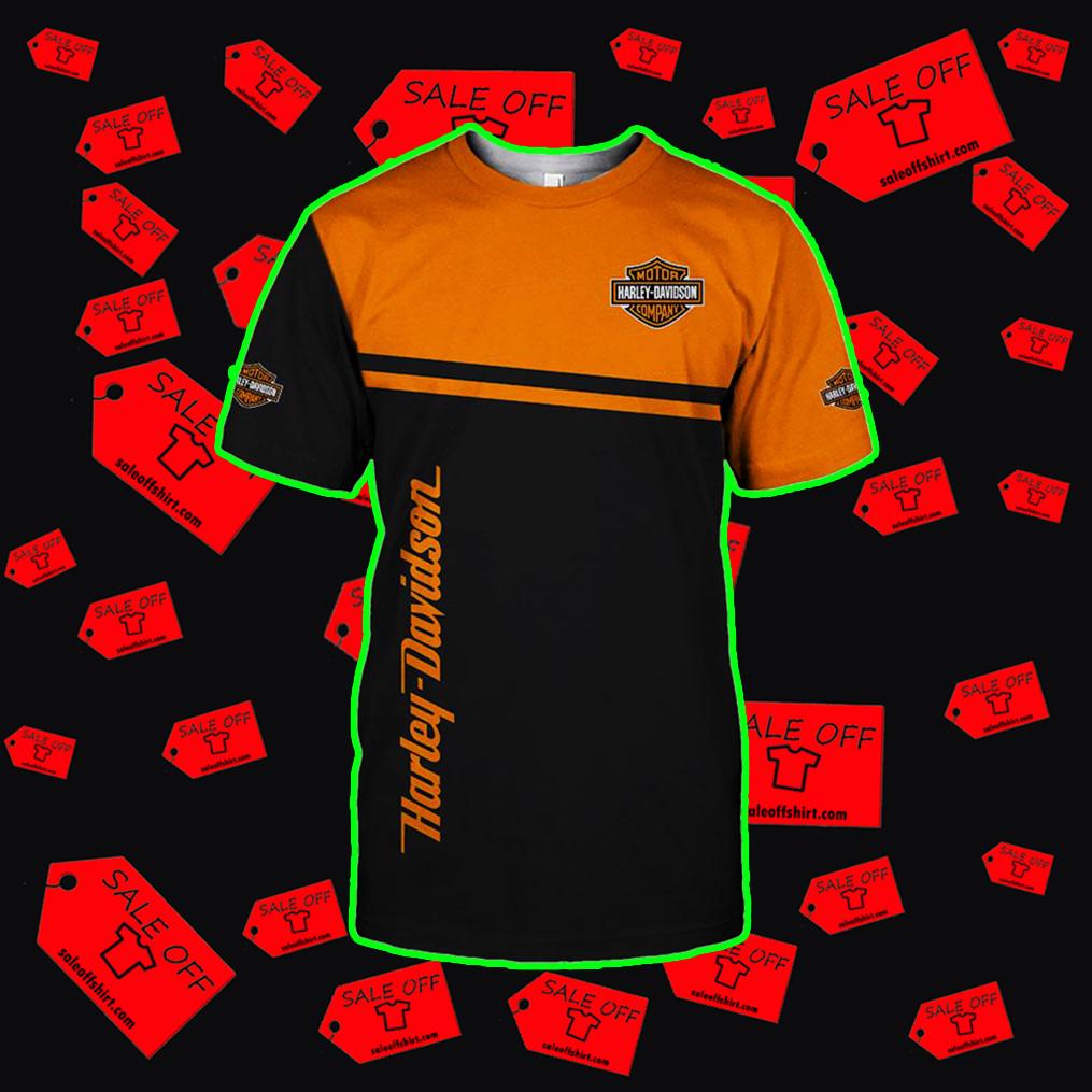 Harley-Davidson Snoopy t-shirt 3d
