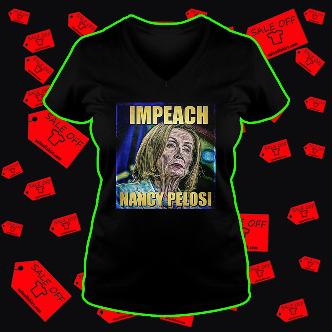 Impeach Nancy Pelosi v-neck