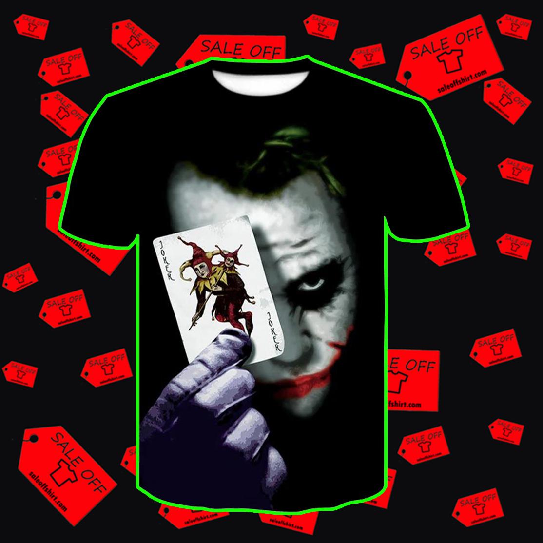 Joker T-Shirt 3D - style 1