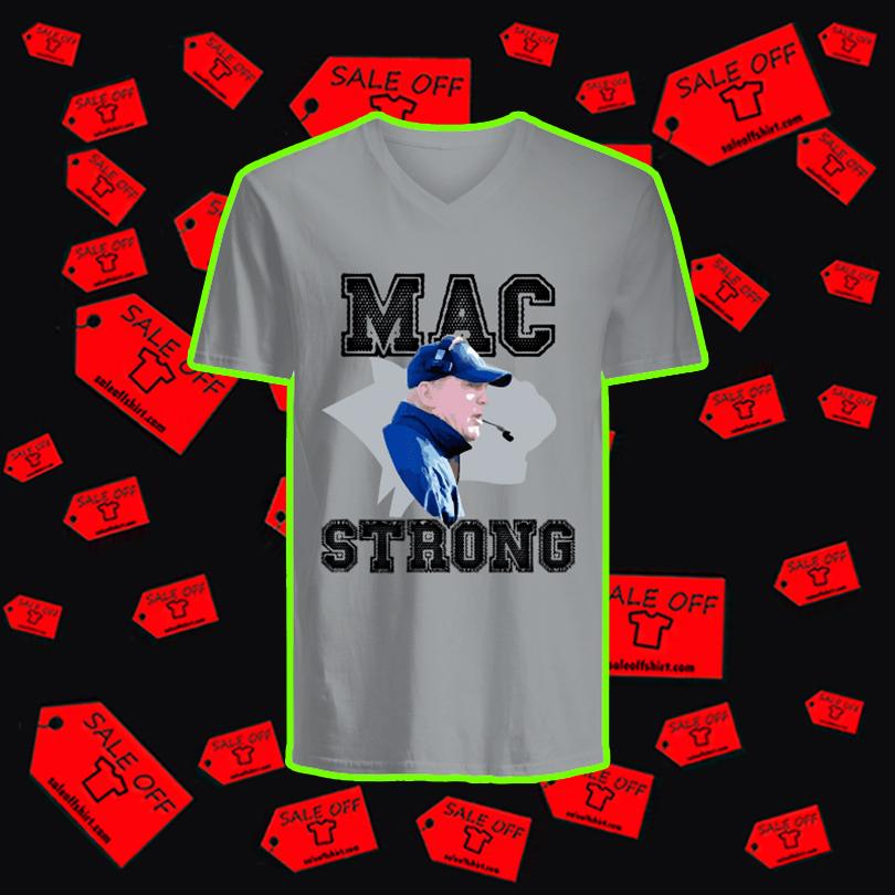 Mac Strong v-neck