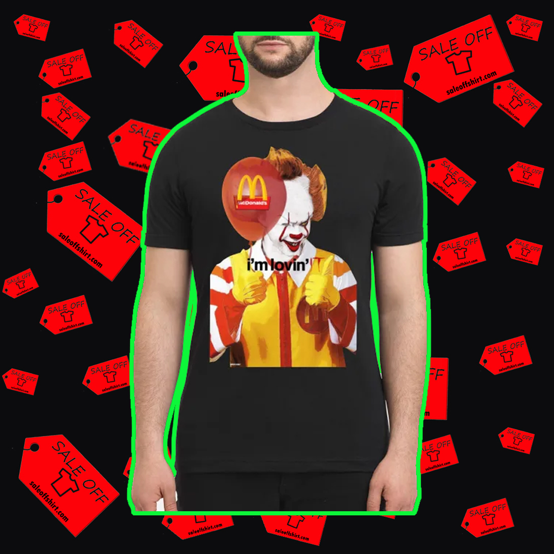 Mcdonald's I'm Lovin' IT men's shirt