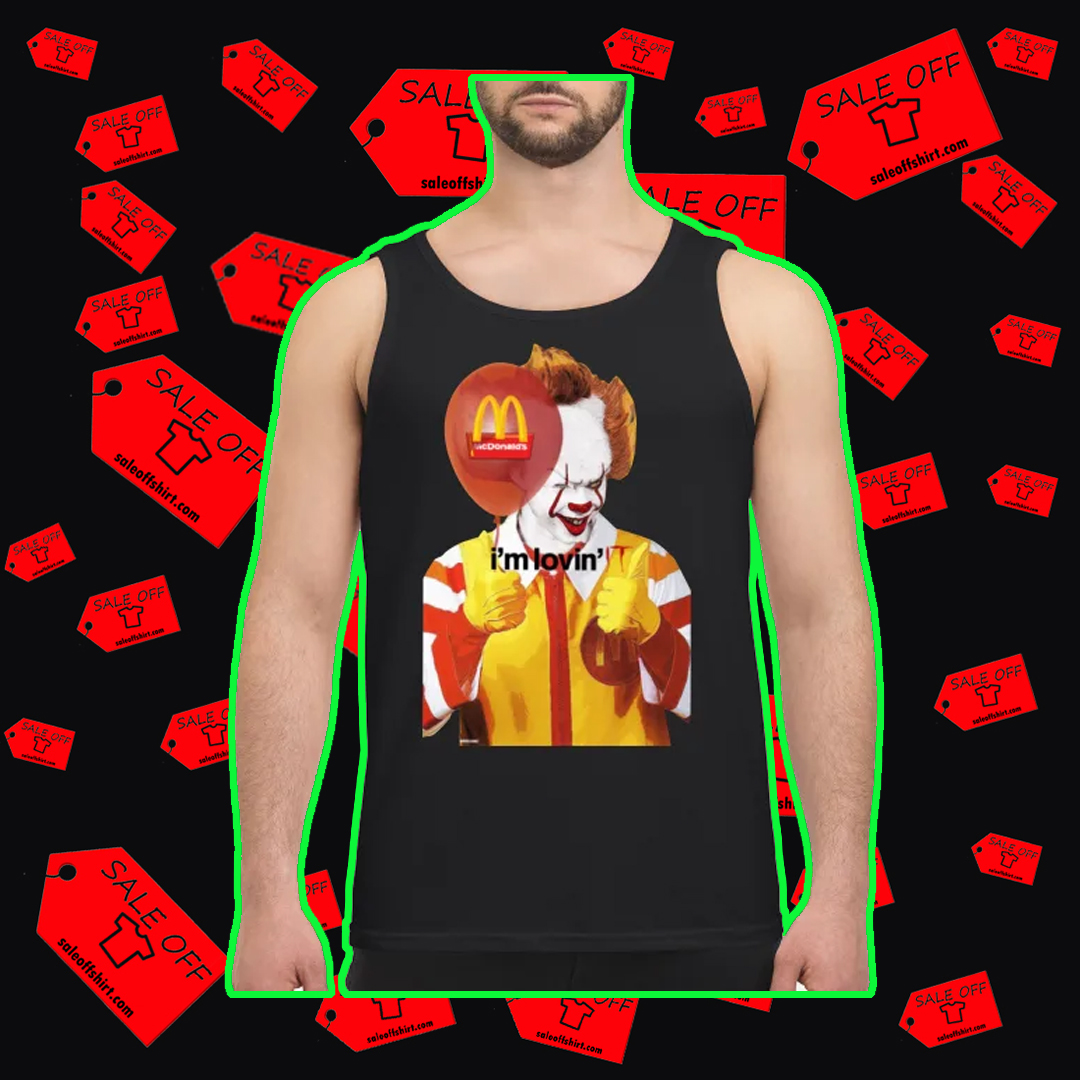 Mcdonald's I'm Lovin' IT tank top