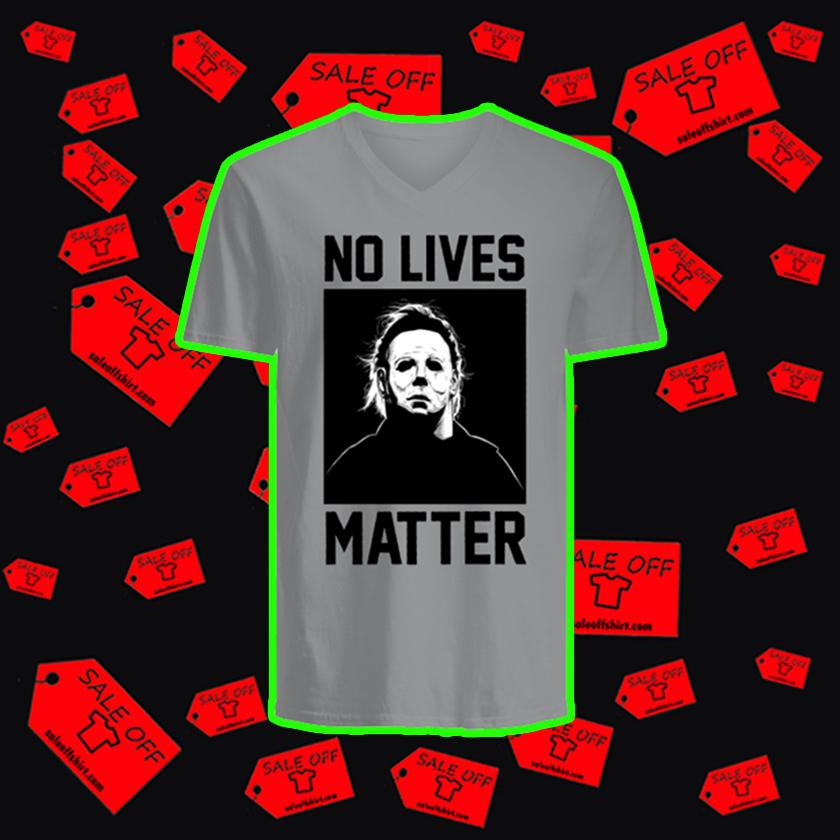 Michael Myers No Lives Matter v-neck