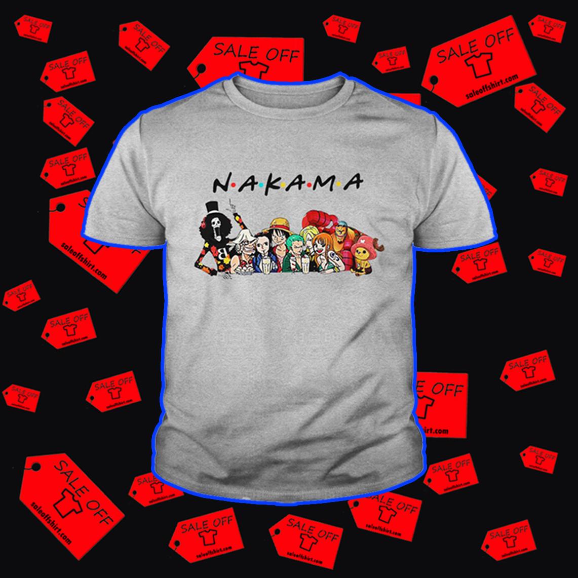 (SALE OFF) Nakama One Piece Friends shirt, hoodie, tank top