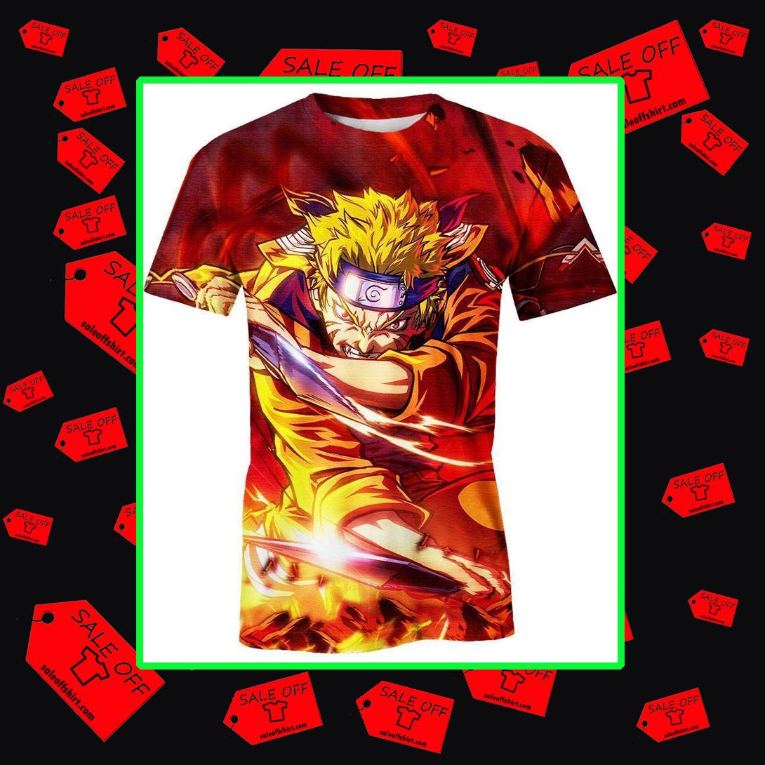Naruto 3d t-shirt